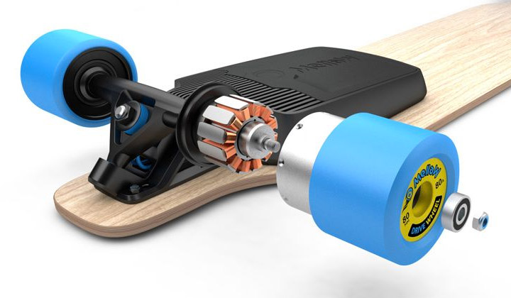 Mellow The Electric Drive That Fits Under Any Skateboard Boards Gmbh Video Walkthrough Of S In Wheel Motors