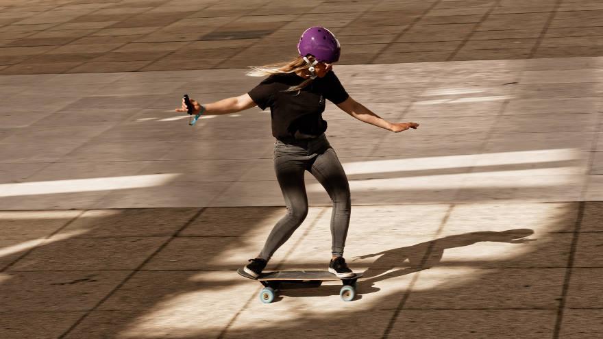 Image result for electric skateboard stance