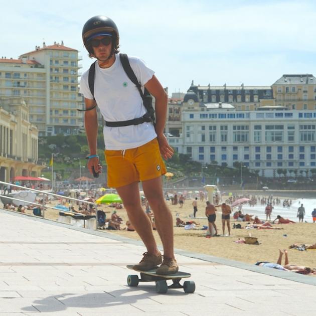 Electric Skateboard Travel Guide: Biarritz