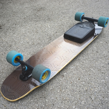 Mellow on a DB Longboards deck? Here's how they get along