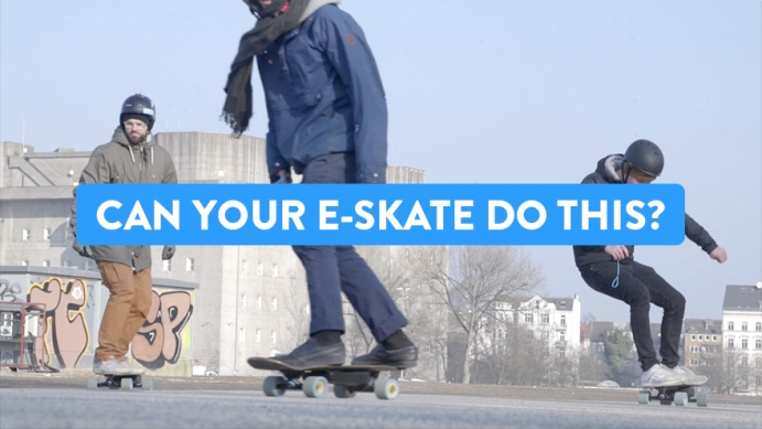 The Perfect Ride On An Electric Skateboard