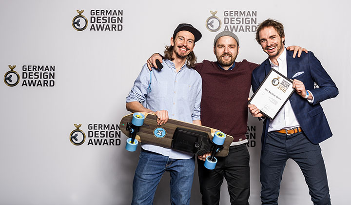 Mellow wins German Design Award 2018