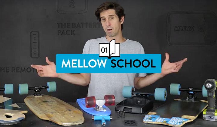 Mellow School #1: Mounting the Drive