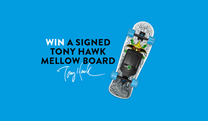 The Tony Hawk Mellow Board Giveaway