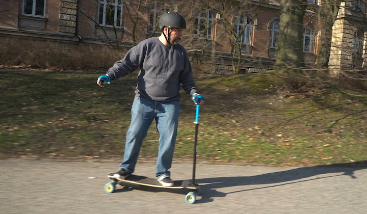 This Stick Can Help You Learn To Skateboard
