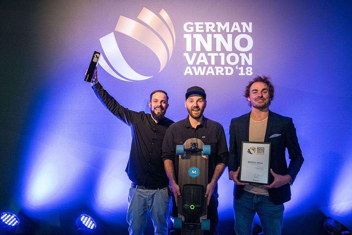 Mellow Boards wins German Innovation Award