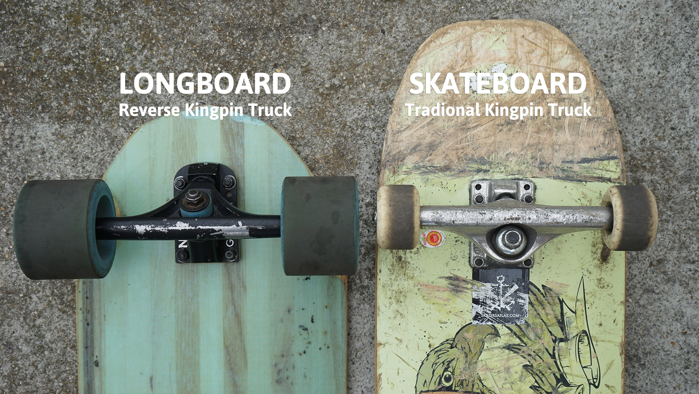 Mellow-electric_skateboards-difference-trucks